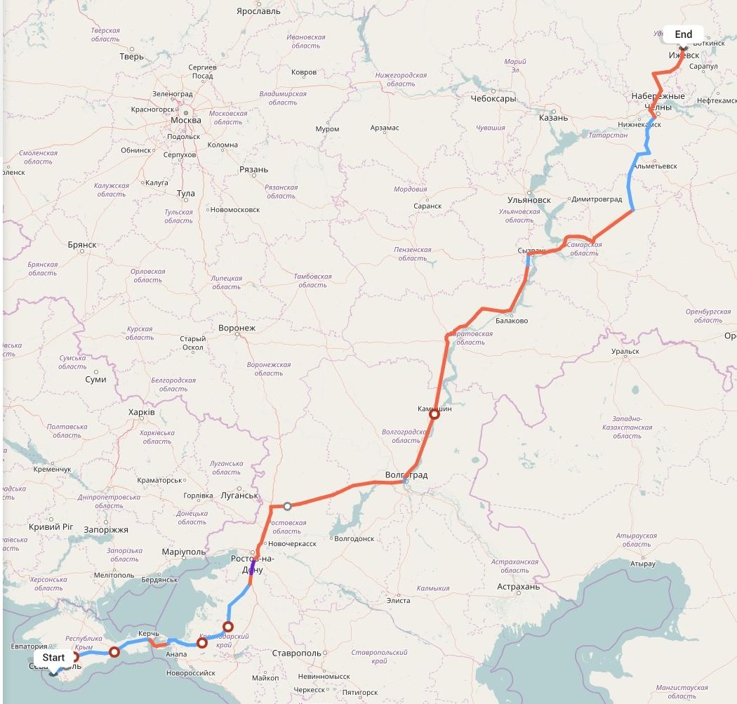 Переезд из Севастополя в Ижевск