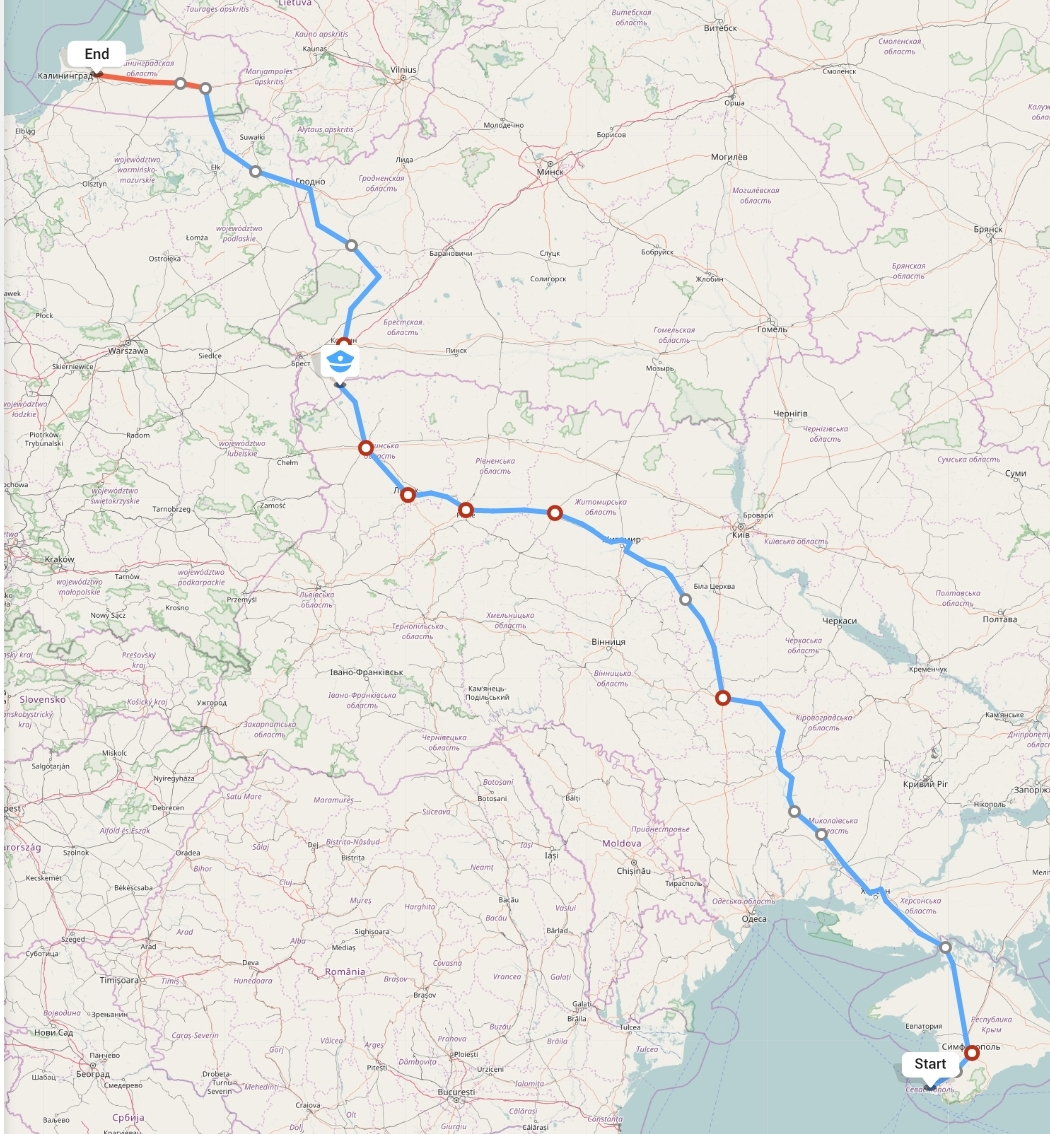 Переезд из Севастополя в Калининград