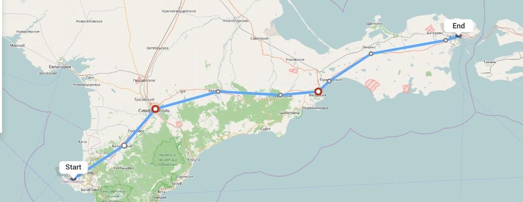 Переезд из Севастополя в Керчь
