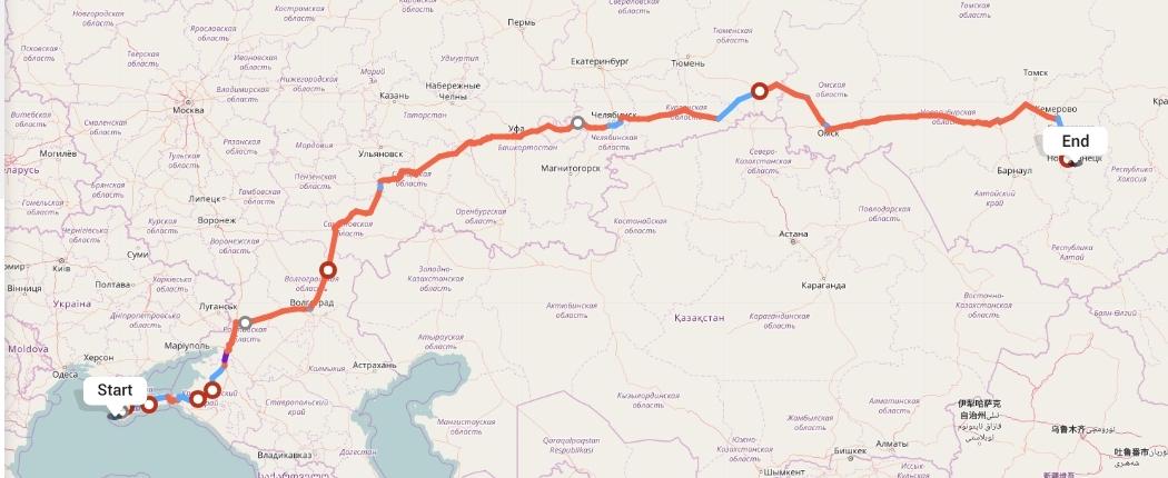 Переезд из Севастополя в Новокузнецк