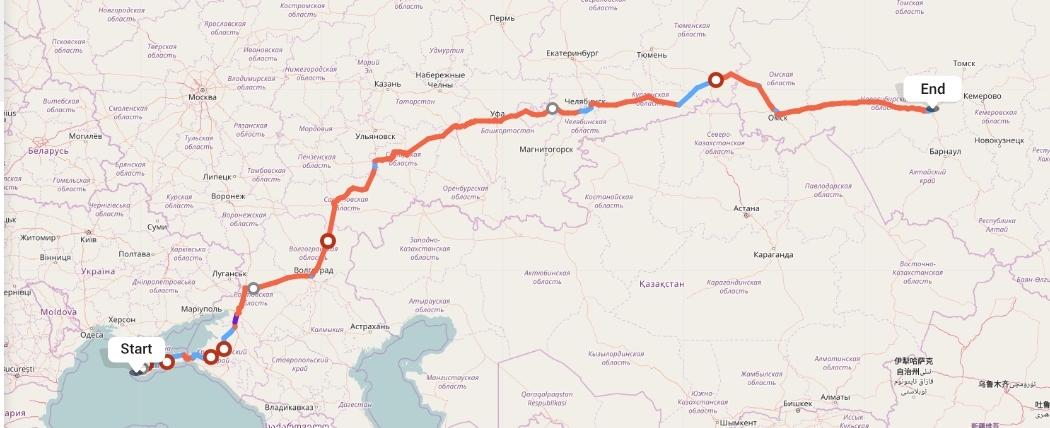 Переезд из Севастополя в Новосибирск