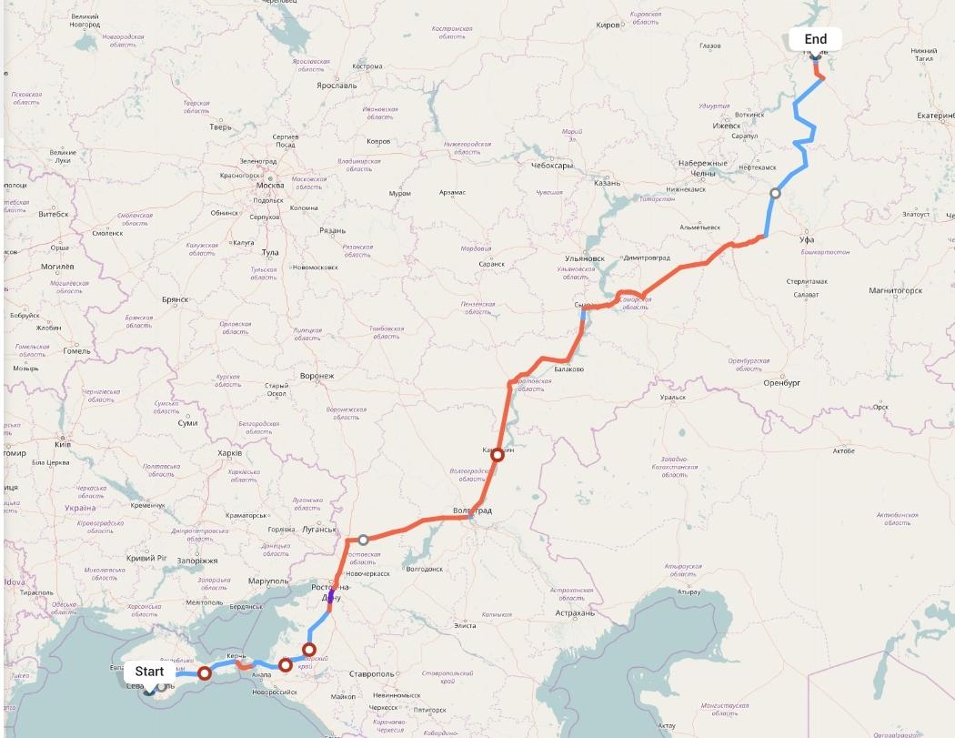 Переезд из Севастополя в Пермь