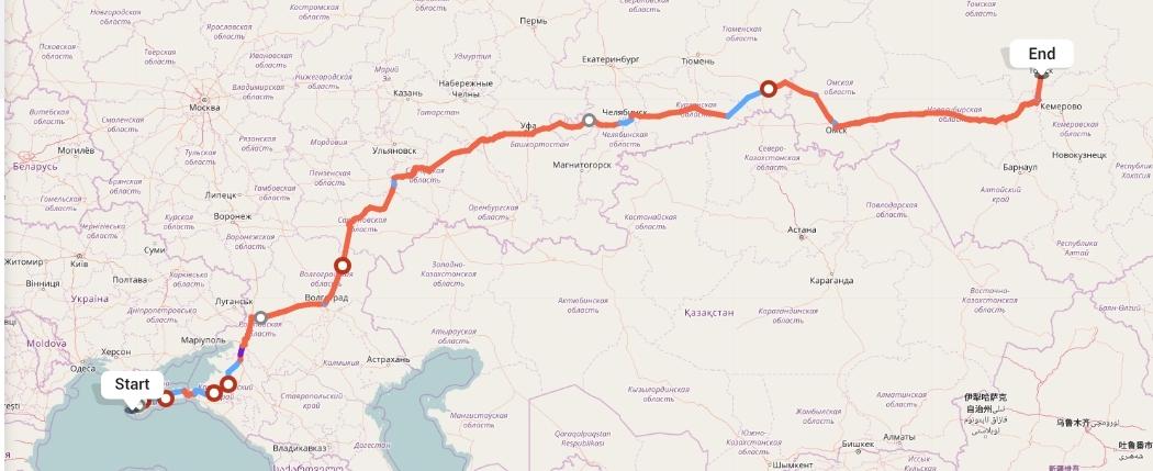 Переезд из Севастополя в Томск