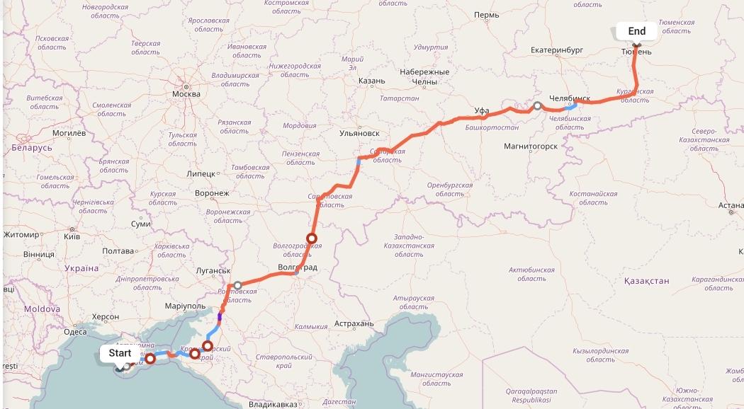 Переезд из Севастополя в Тюмень