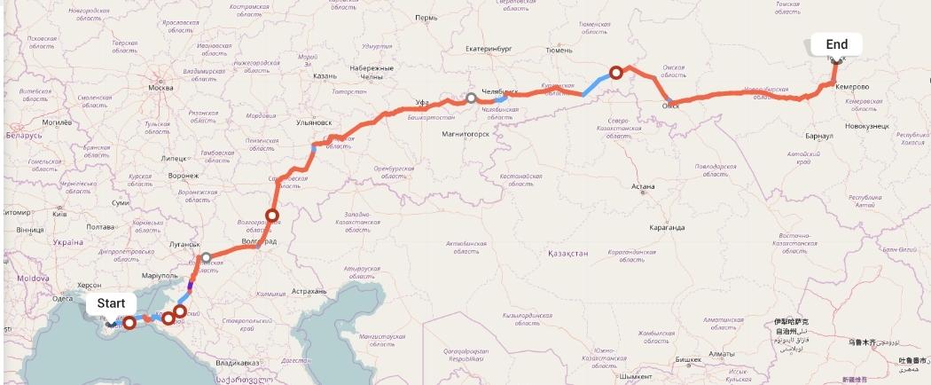 Переезд из Симферополя в Томск