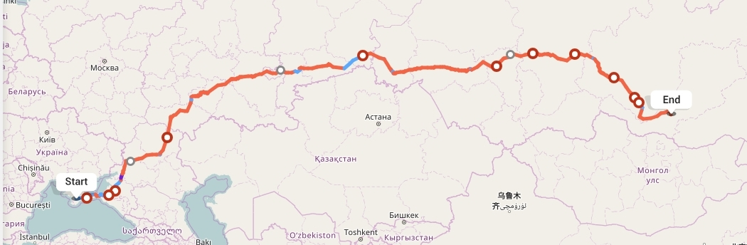 Переезд из Симферополя в Улан-Удэ