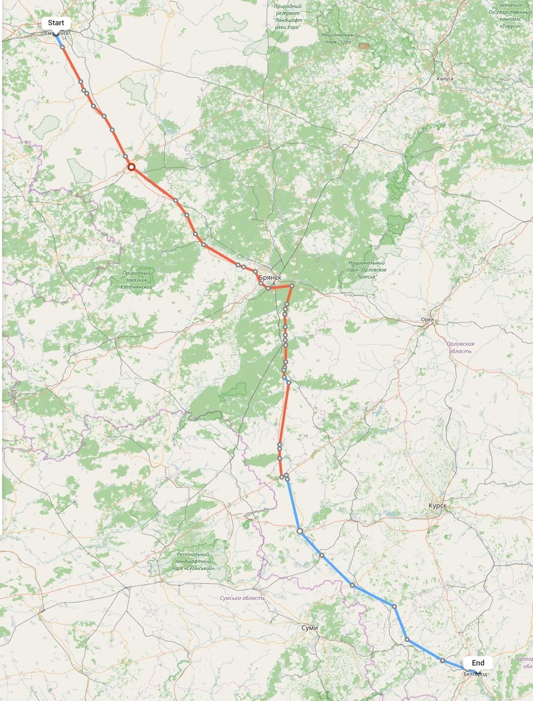Переезд из Смоленска в Белгород