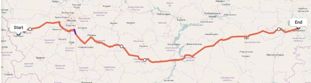 Переезд из Смоленска в Челябинск