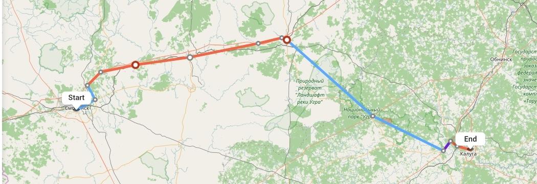 Переезд из Смоленска в Калугу