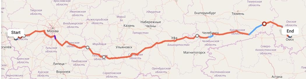 Переезд из Смоленска в Омск