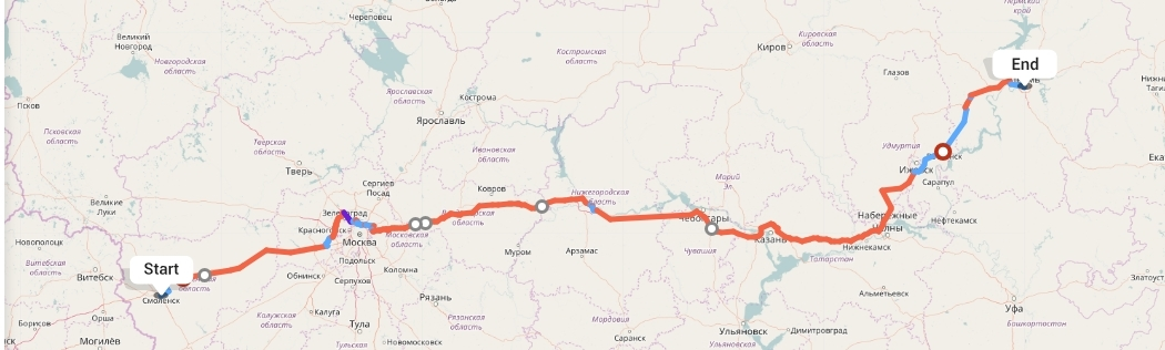 Переезд из Смоленска в Пермь