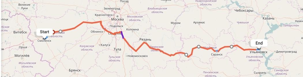 Переезд из Смоленска в Ульяновск
