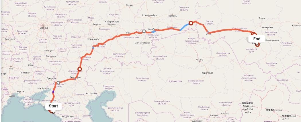Переезд из Сочи в Барнаул