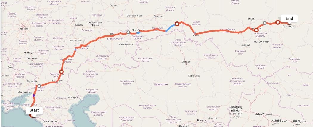 Переезд из Сочи в Красноярск