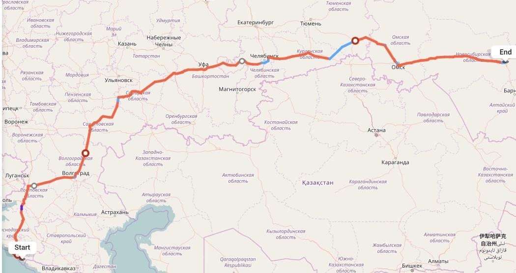 Переезд из Сочи в Новосибирск