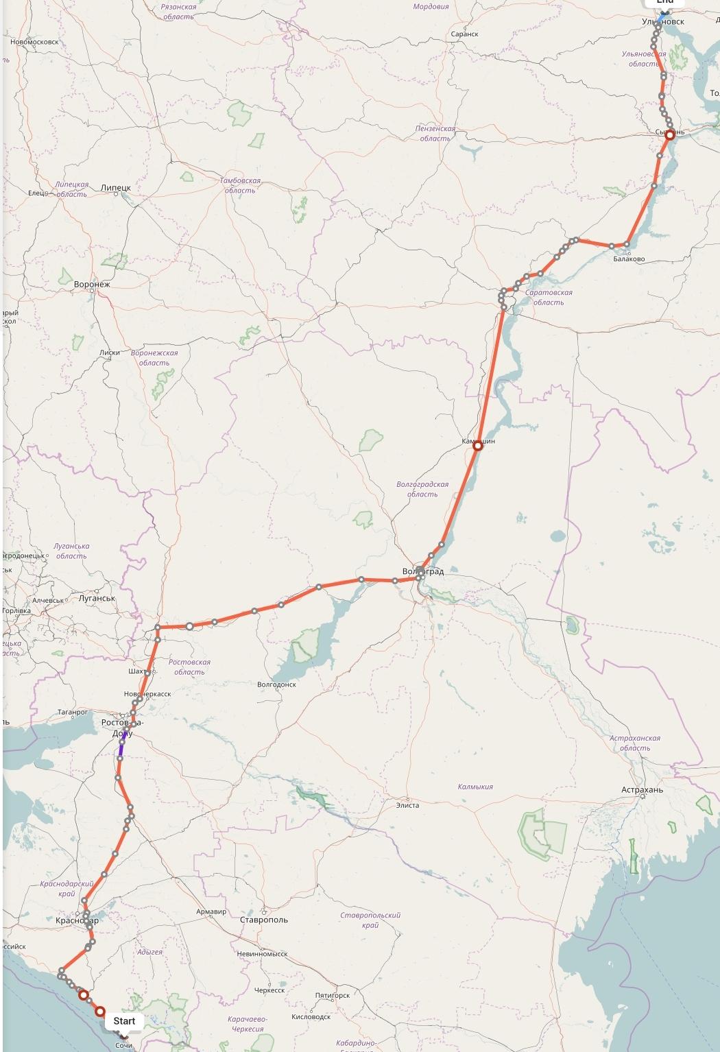 Переезд из Сочи в Ульяновск