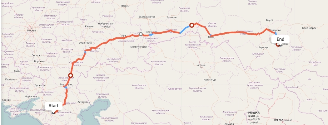 Переезд из Ставрополя в Новокузнецк