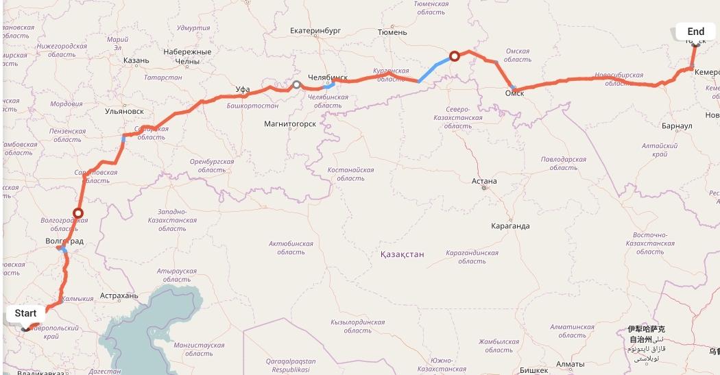 Переезд из Ставрополя в Томск