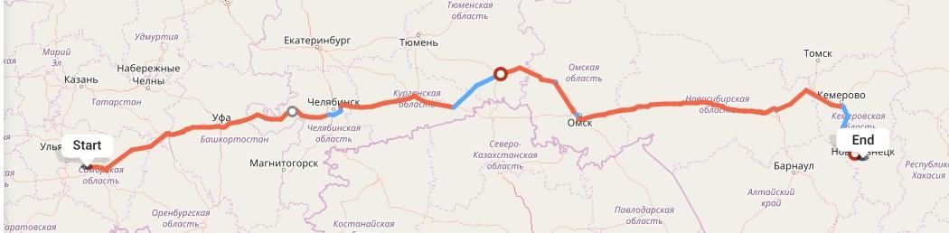Переезд из Тольятти в Новокузнецк