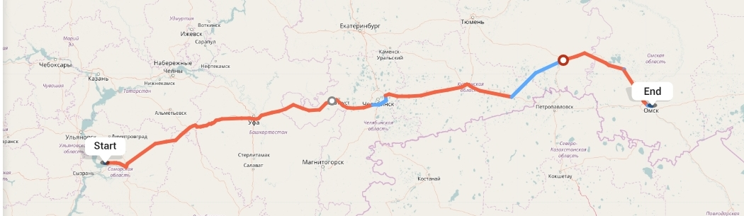 Переезд из Тольятти в Омск