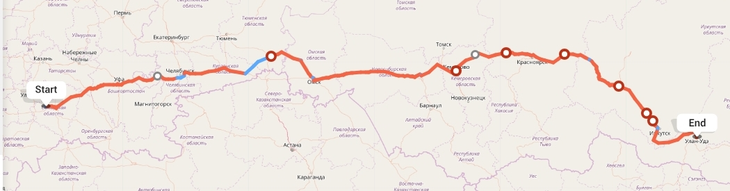 Переезд из Тольятти в Улан-Удэ