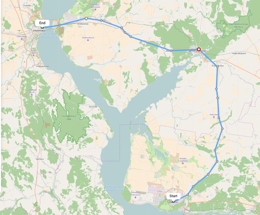 Переезд из Тольятти в Ульяновск