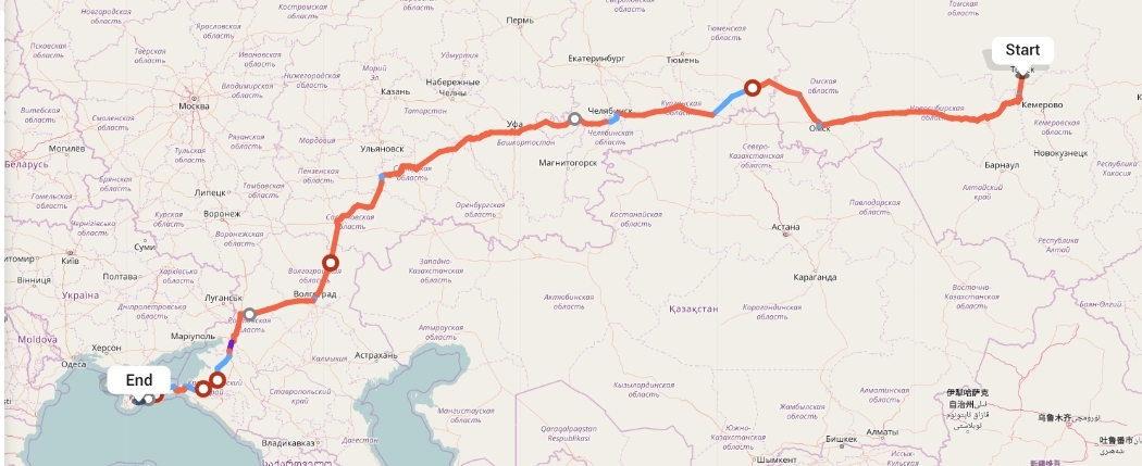 Переезд из Томска в Алушту