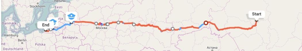 Переезд из Томска в Калининград
