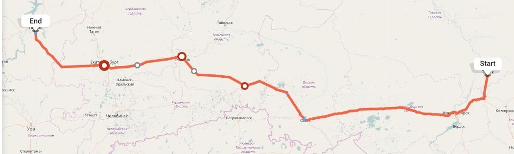 Переезд из Томска в Пермь