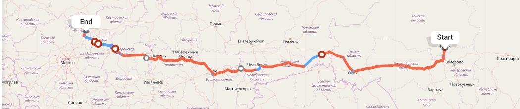 Переезд из Томска в Ярославль