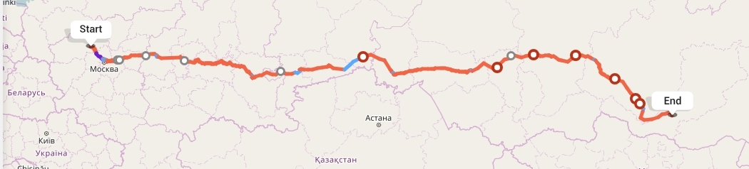 Переезд из Твери в Улан-Удэ