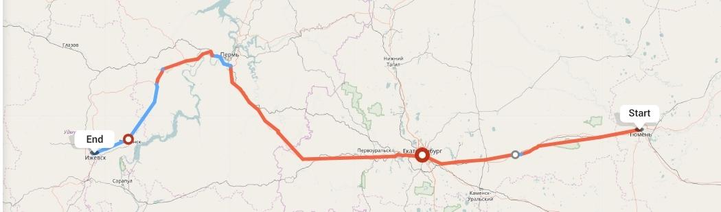 Переезд из Тюмени в Ижевск