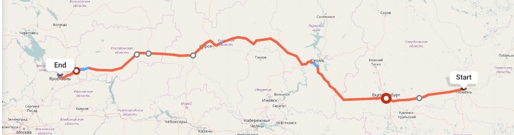 Переезд из Тюмени в Ярославль