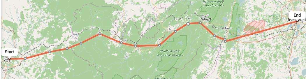 Переезд из Уфы в Челябинск