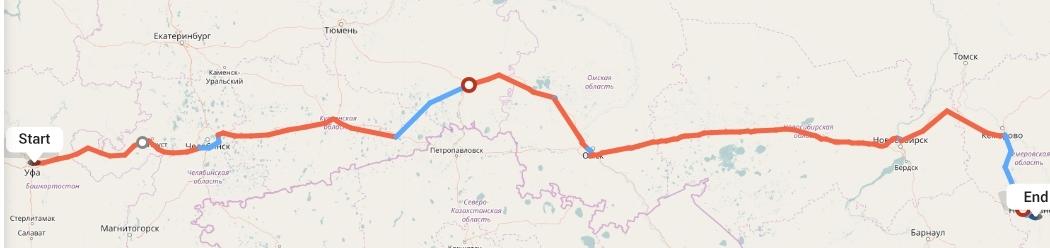 Переезд из Уфы в Новокузнецк