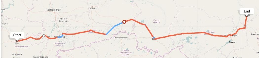 Переезд из Уфы в Томск