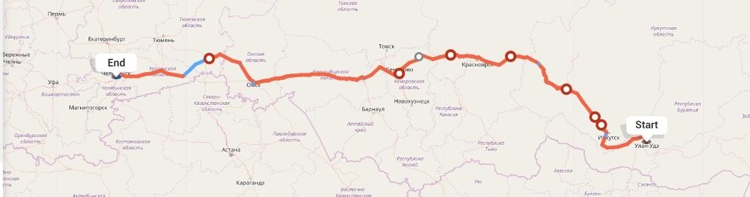 Переезд из Улан-Удэ в Челябинск
