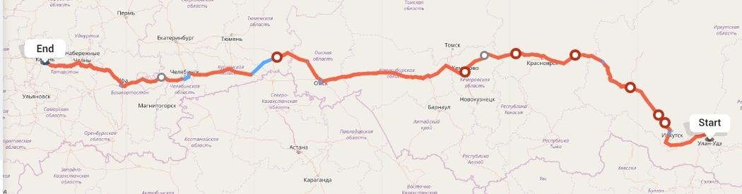 Переезд из Улан-Удэ в Казань