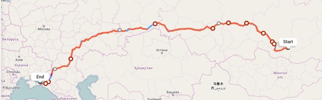 Переезд из Улан-Удэ в Керчь