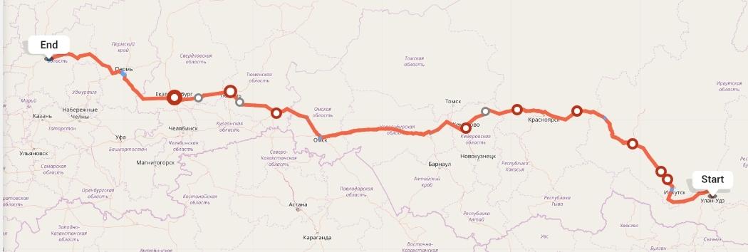 Переезд из Улан-Удэ в Киров