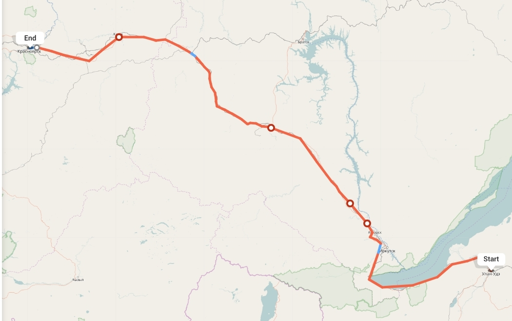 Переезд из Улан-Удэ в Красноярск