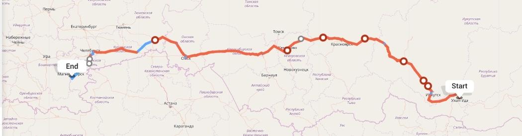 Переезд из Улан-Удэ в Магнитогорск