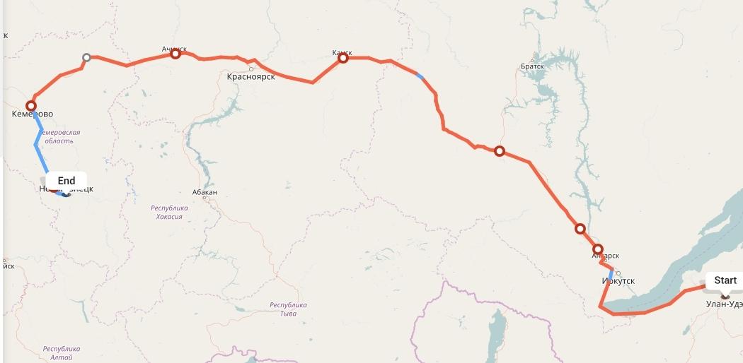 Переезд из Улан-Удэ в Новокузнецк