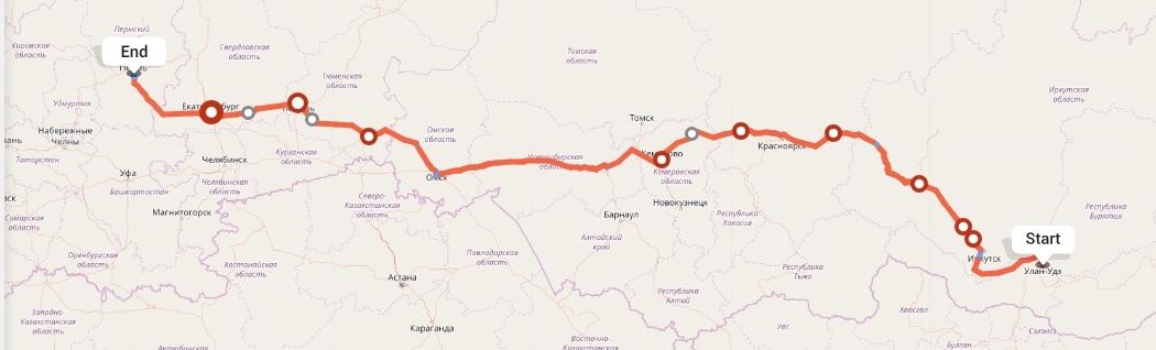 Переезд из Улан-Удэ в Пермь