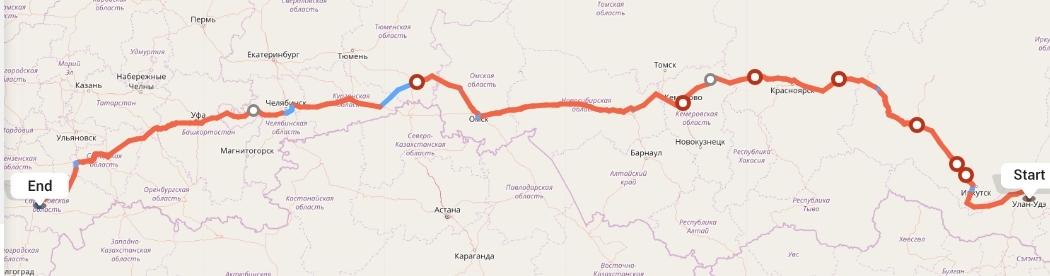 Переезд из Улан-Удэ в Саратов
