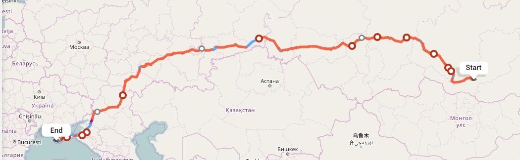 Переезд из Улан-Удэ в Севастополь