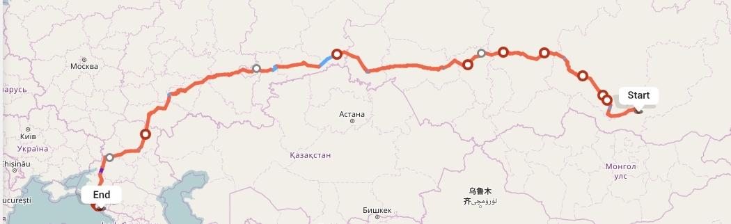 Переезд из Улан-Удэ в Сочи