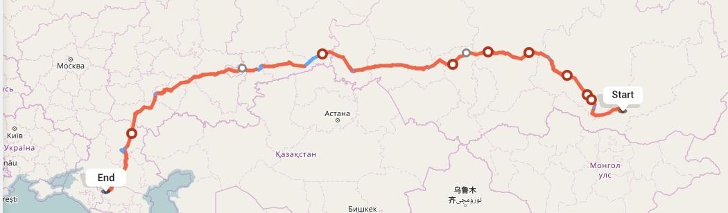 Переезд из Улан-Удэ в Ставрополь