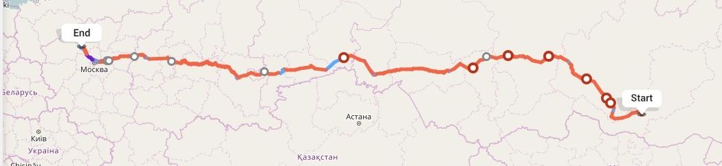 Переезд из Улан-Удэ в Тверь
