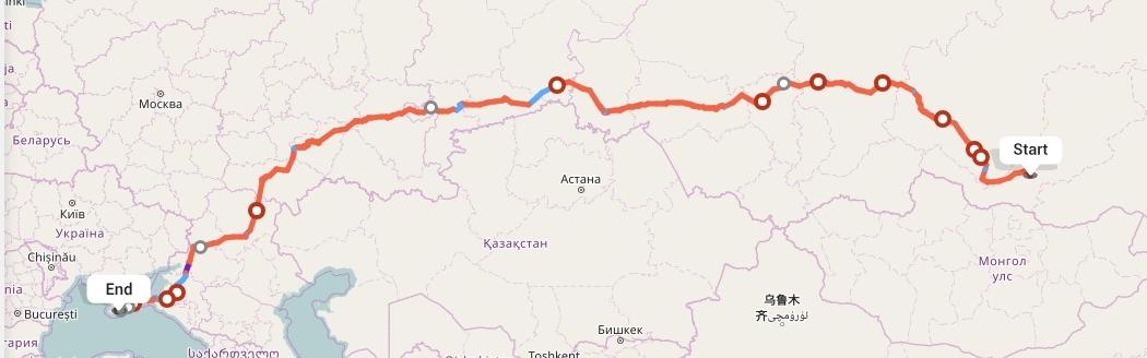 Переезд из Улан-Удэ в Ялту